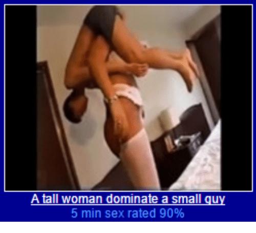 Short and sex girl tall man Short Height