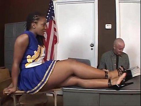 Black cheerleaders blowjob videos