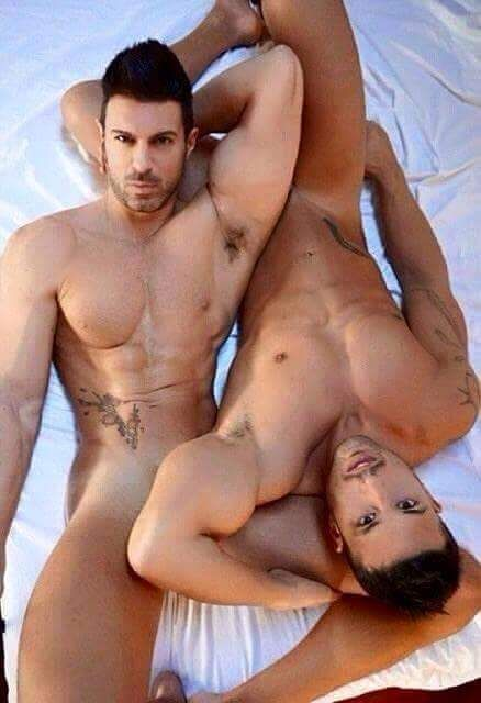 Caught naked males