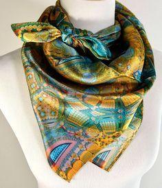 Ann taylor silk scarf bondage