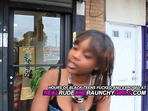 Black deep throat girls