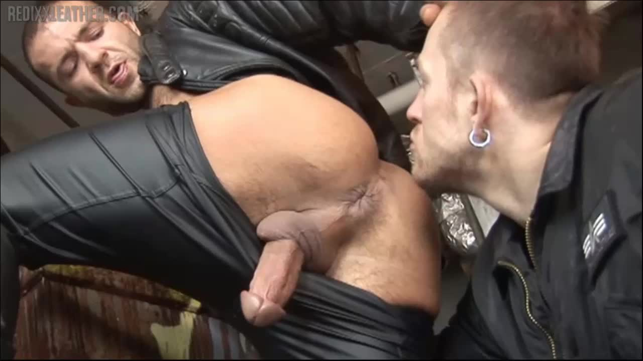 best of Leather in Gay dick