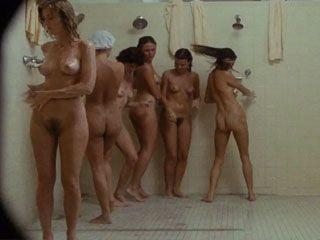 Nude female shower scenes