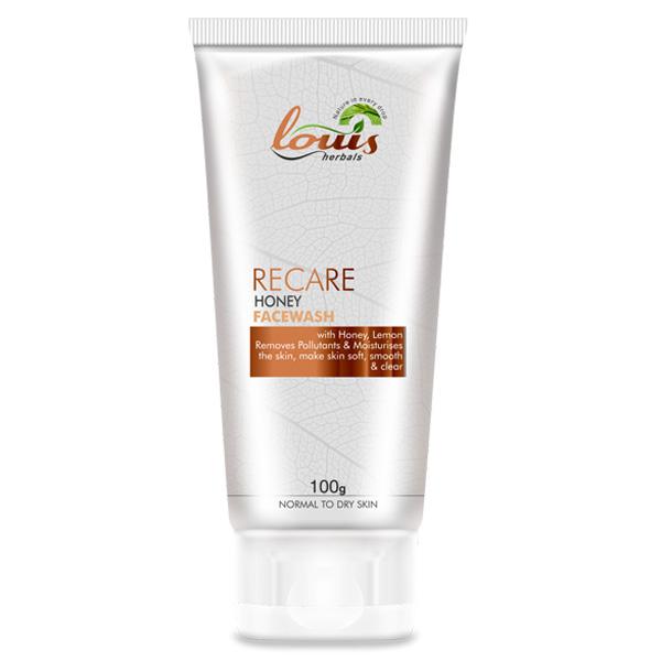 Herbal facial wash