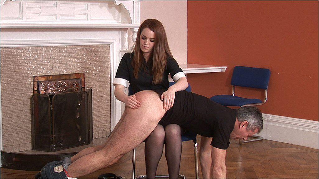 Boob leg spread