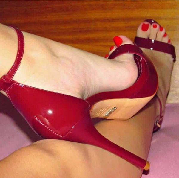 Lesbian force foot fetish