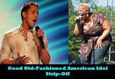 best of Idol american strip hernandez David