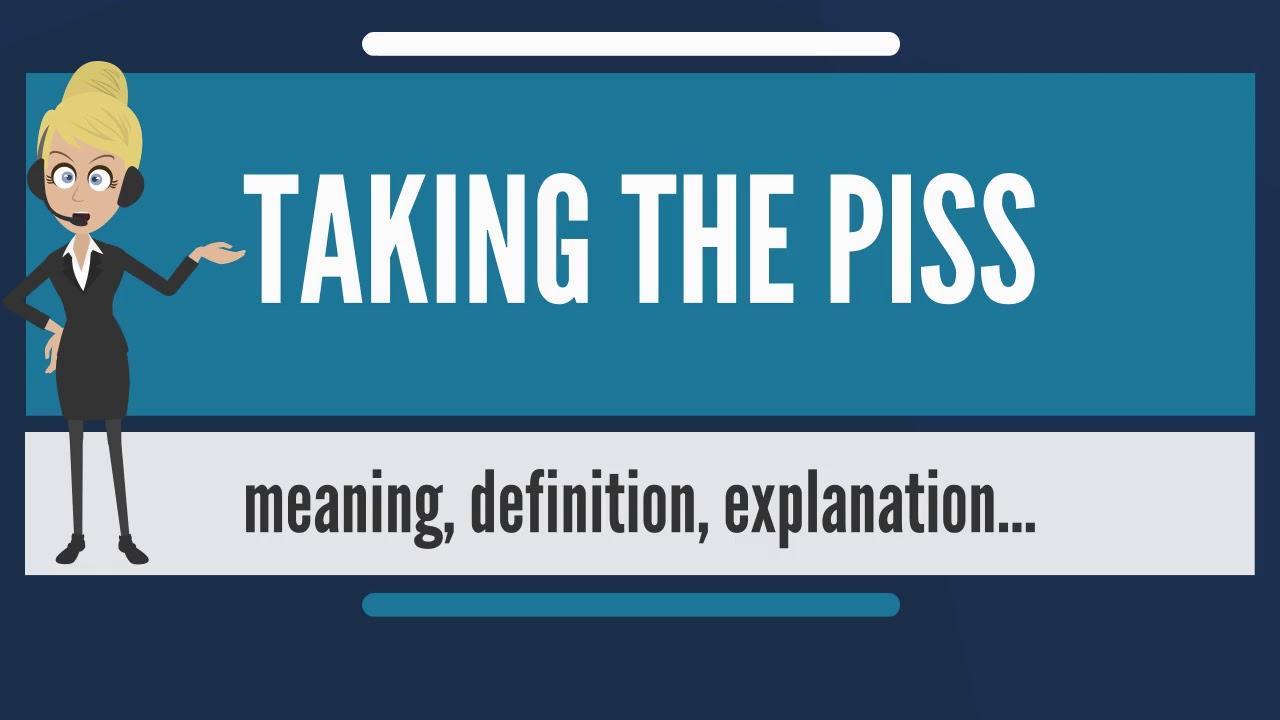best of Taking piss Australian the