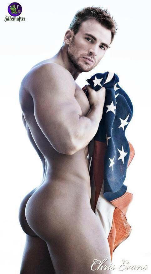 Chris evans naked