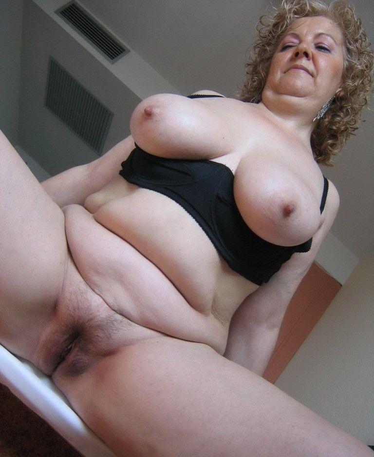 Chubby granny x