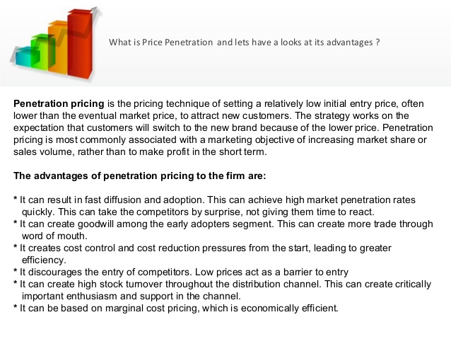 Undertaker reccomend Definition of price penetration