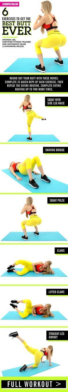 Exercieses for a sexy butt