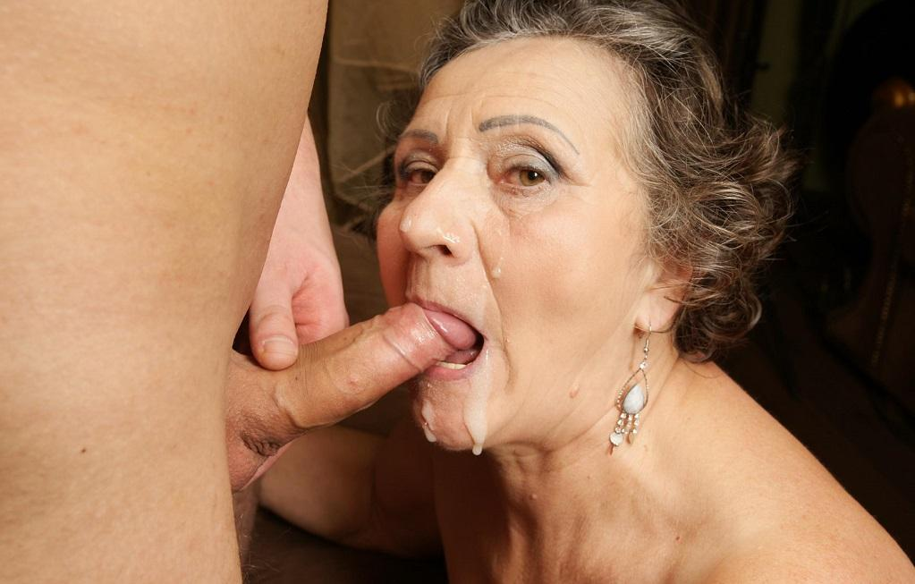 best of Grannys face over Cum