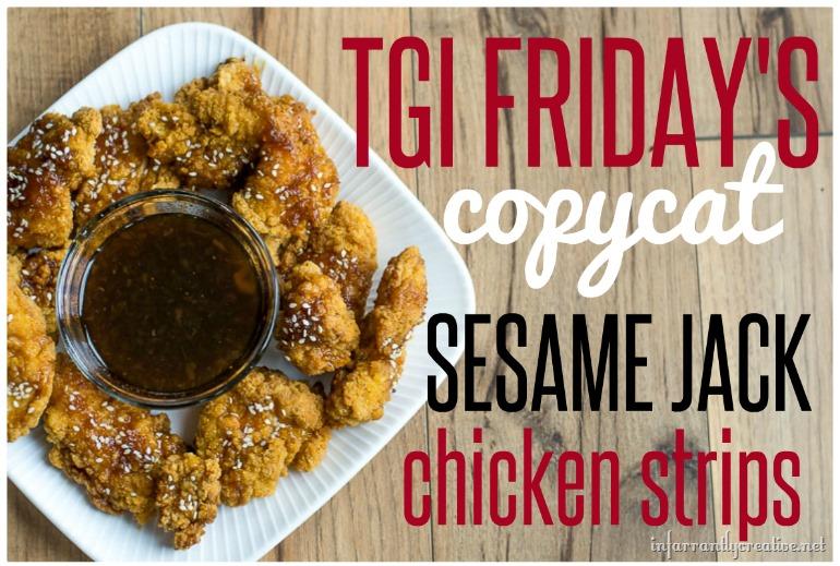 best of Jack Tgif chicken strips sesame